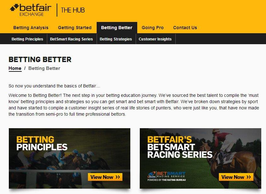 Betfair - the Hub