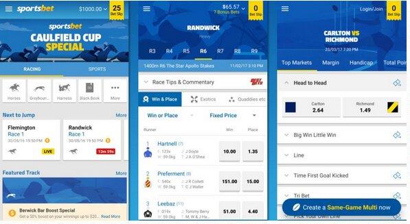 Sportsbet - Mobile