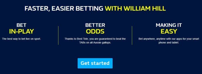 Willliam Hill Betting