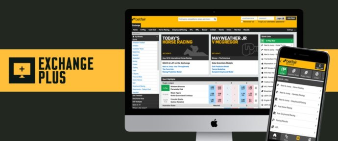 betfair exchange plus mobile app